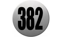 numéroderue382 gris brossé