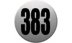 numéroderue383 gris brossé