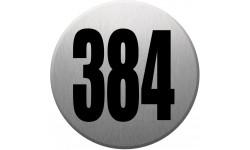 numéroderue384 gris brossé