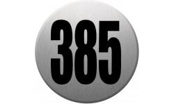 numéroderue385 gris brossé