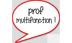 stickers / autocollant prof multifonction
