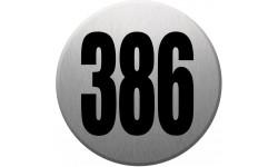 numéroderue386 gris brossé