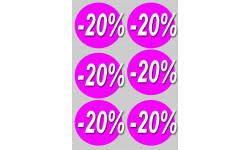 Ronds 20%
