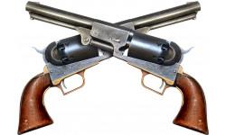 Sticker / autocollant : revolvers - 29,5x21cm