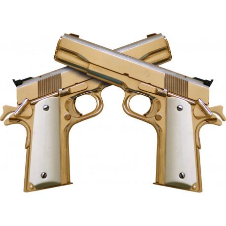 "Stickers / autocollant ""gun"""