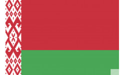 Sticker / autocollant : Drapeau Biélorussie - 5x3.3cm