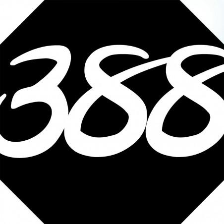 Sticker / autocollant : numéroderue388 architecte - 10cm