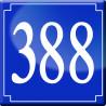 Sticker / autocollant : numéroderue388 classique - 10cm