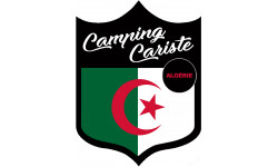 Sticker / autocollant : Camping car Algérie - 15x11.2cm