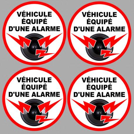 véhicule sous alarme