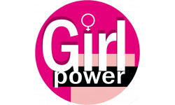 autocollant Girl Power