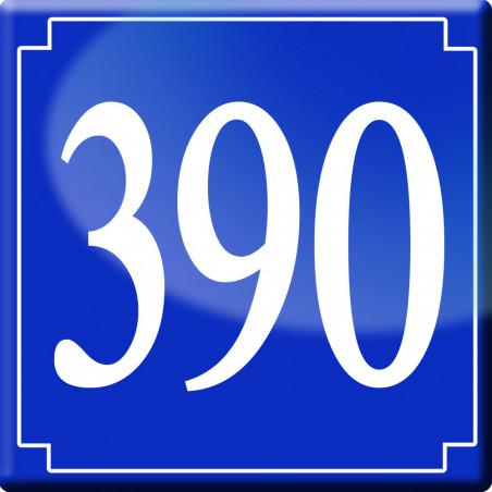 Sticker / autocollant : numéroderue390 classique - 10cm