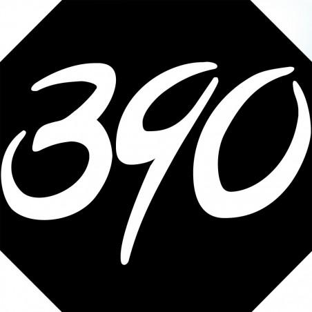 Sticker / autocollant : numéroderue390 architecte - 10cm