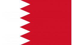 Sticker / autocollant : Drapeau Bahrain - 19.5x13 cm
