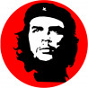 Sticker / autocollant : Che Guevara - 5cm