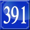 Sticker / autocollant : numéroderue391 classique - 10cm