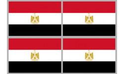 Stickers / autocollants drapeau Égypte 2