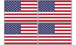 Stickers / autocollants drapeau États-Unis 2