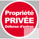 propriete privee