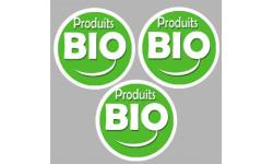 Autocollants : autocollants produits bio