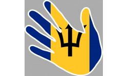 drapeau Barbados main