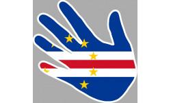 drapeau Cap vert main