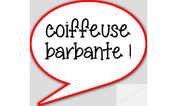 Coiffeuse barbante