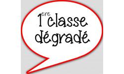 1ere classe degradé