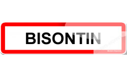 Stickers Bisontin et Bisontine