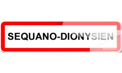 Stickers Sequano-Dionysien et Sequano-Dionysienne
