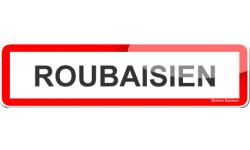 Autocollants : Stickers Roubaisien et Roubaisienne