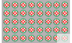 Stickers / autocollants série Produits basque