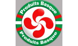 Stickers autocollant Produits Basque