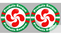 Sticker autocollants serie Produits Basque