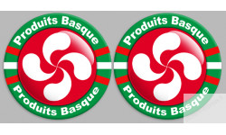 Stickers serie Produits Basque rouge