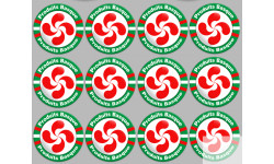 Stickers autocollants serie Produits Basque
