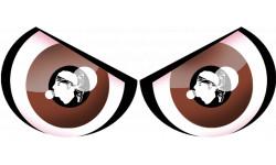 Paire d'yeux Corse