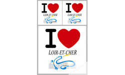 stickers autocollants departement du Loir et Cher