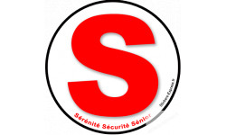 autocollant 3 S Serenite securite senior
