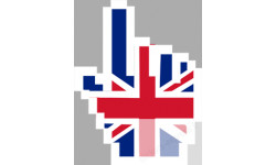Autocollants : Curseur main anglaise