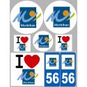 stickers autocollants departement du Morbihan