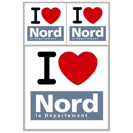 stickers / autocollant département du Nord