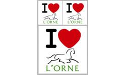 stickers / autocollant département de l'Orne