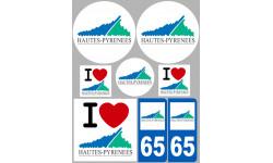 stickers / autocollant département des Hautes Pyrénées