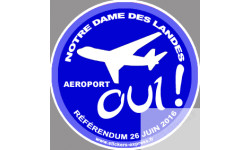 Oui au référendum pour l'aéroport de Notre Dame des Landes