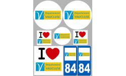 stickers / autocollant département du Vaucluse