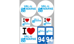 stickers / autocollant département du Val de Marne