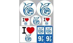 stickers / autocollant département de la Martinique