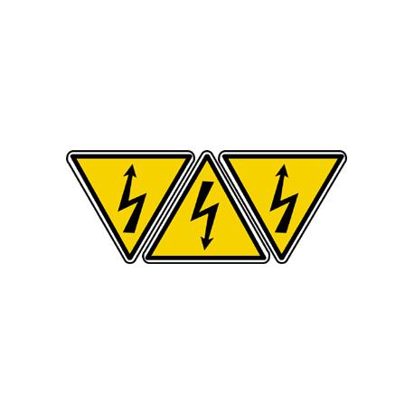 Stickers  / Autocollant danger électrique