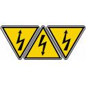 Autocollants : autocollant danger électrique
